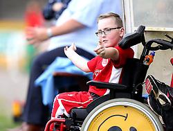 Oskar Pycroft watches the Bristol Fan Derby - Mandatory by-line: Robbie Stephenson/JMP - 04/09/2016 - FOOTBALL - Memorial Stadium - Bristol, England - Bristol Rovers Fans v Bristol City Fans - Bristol Fan Derby