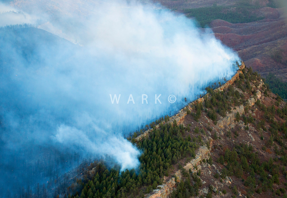 Wildfire at Wetmore, Colorado