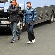 NLD/Hilversum/20081105 - Inloop gasten opname In de Hoofdrol met Gerard Joling, jan Smit en chauffeur Cor Veen