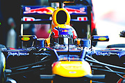 February 21, 2012: Formula One Testing, Circuit de Catalunya, Barcelona, Spain. Mark Webber, Red Bull-Renault RB8