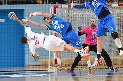 Stefan Vujic of Serbia during friendly handball match between Slovenia and Srbija, on October 27th, 2019 in Športna dvorana Lukna, Maribor, Slovenia. Photo by Milos Vujinovic / Sportida