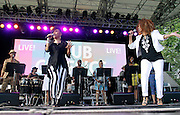 Norma Jean Wright and Alfa Anderson perform as SummerStage presents Club Classics Live at Rumsey Playfield in Central Park in New York City, New York on June 28, 2014.