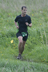 """(Kingston, Ontario---16/05/09) """"Craig Donlan finished 14 in the men's 10-12 km Enduro Race at the 2009 Salomon 5 Peaks Trail Running series Race held in Kingston, Ontario as part of the Eastern Ontario/Quebec division.""""  Copyright photograph Sean Burges/Mundo Sport Images, 2009. www.mundosportimages.com / www.msievents.com."""