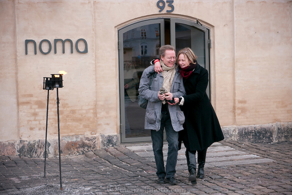 Copenhagen, Denmark. Noma Restaurant. Voted number one in the world.