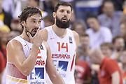 DESCRIZIONE : Berlino Berlin Eurobasket 2015 Group B Spain Serbia<br /> GIOCATORE : Sergio Llull<br /> CATEGORIA : Delusione<br /> SQUADRA : Spain<br /> EVENTO : Eurobasket 2015 Group B<br /> GARA : Spain Serbia <br /> DATA : 05/09/2015<br /> SPORT : Pallacanestro<br /> AUTORE : Agenzia Ciamillo-Castoria/R.Morgano<br /> Galleria : Eurobasket 2015<br /> Fotonotizia : Berlino Berlin Eurobasket 2015 Group B Spain Serbia