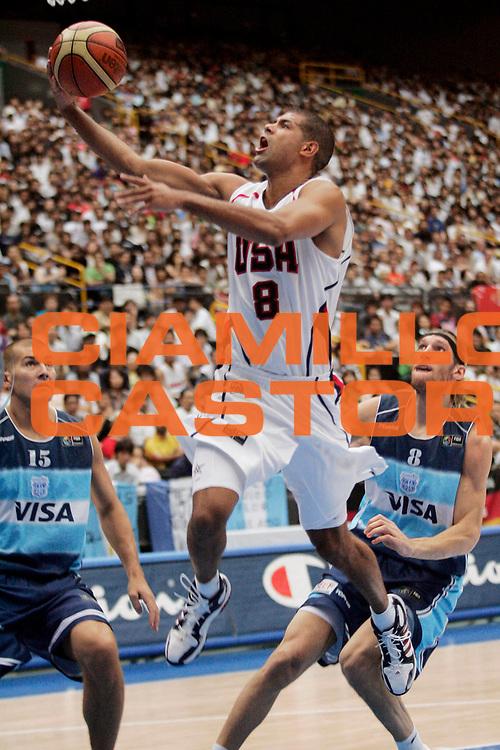 DESCRIZIONE : Saitama Giappone Japan Men World Championship 2006 Campionati Mondiali Usa-Argentina <br /> GIOCATORE : Battier <br /> SQUADRA : Usa Stati Uniti America <br /> EVENTO : Saitama Giappone Japan Men World Championship 2006 Campionato Mondiale Usa-Argentina <br /> GARA : Usa Argentina Stati Uniti America Argentina <br /> DATA : 02/09/2006 <br /> CATEGORIA : Tiro <br /> SPORT : Pallacanestro <br /> AUTORE : Agenzia Ciamillo-Castoria/A.Vlachos <br /> Galleria : Japan World Championship 2006<br /> Fotonotizia : Saitama Giappone Japan Men World Championship 2006 Campionati Mondiali Usa-Argentina <br /> Predefinita :