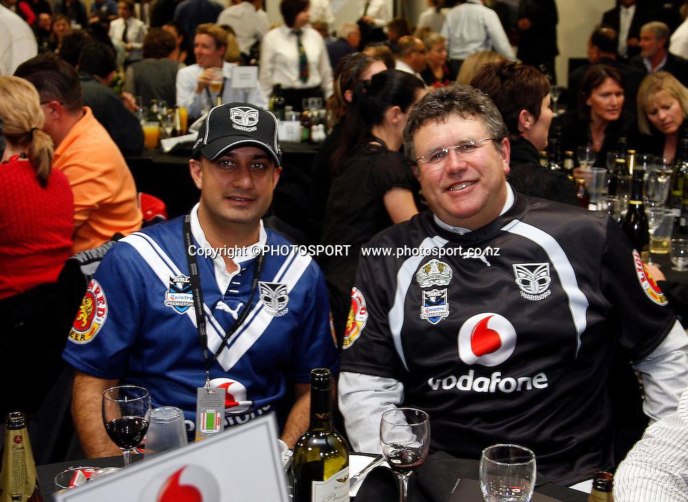 NRL Semi Finals, Warriors v Roosters, Mt Smart Stadium, Auckland, Friday 19 September 2008. Photo: PHOTOSPORT
