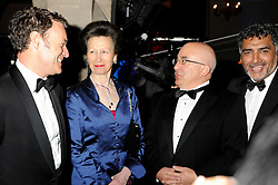 Princess Royal & James Caan during the NatWest UK Fashion & Textile Awards 2013. Myleene Klass hosts and the Princess Royal attends as UK Fashion and Textile Association holds its annual event recognising companies that have demonstrated excellence in fashion and textile exports. Categories include Brand of the Year, Designer Business and Retailer of the Year, London, UK, 23 May 2013. Photo by: Stewart Williams / i-Images