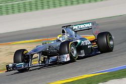 01.02.2011, Street Circuit. Jerez, ESP, Formel 1 Test 1 Valencia 2011,  im Bild Nico Rosberg (GER), Mercedes GP EXPA Pictures © 2011, PhotoCredit: EXPA/ nph/  Dieter Mathis       ****** out of GER / SWE / CRO  / BEL ******