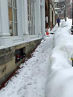 Winter Street Scene, Providence, Rhode Island