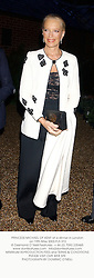 PRINCESS MICHAEL OF KENT at a dinner in London on 19th May 2003.PJS 372