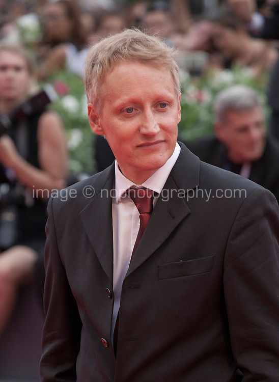 Actor Benjamin Utzerath at the gala screening for the film Francofonia at the 72nd Venice Film Festival, Friday September 4th 2015, Venice Lido, Italy.