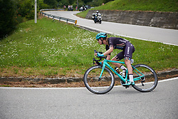 Tayler Wiles (USA) in the escape on the descent at Giro Rosa 2018 - Stage 5, a 122.6 km road race starting and finishing in Omegna, Italy on July 10, 2018. Photo by Sean Robinson/velofocus.com
