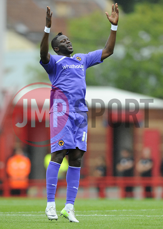 Wolverhampton Wanderers' Bakary Sako celebrates his goal   - Photo mandatory by-line: Joe Meredith/JMP - Tel: Mobile: 07966 386802 17/08/2013 - SPORT - FOOTBALL - Ashton Gate - Bristol -  Bristol City V Wolves - Sky Bet League One