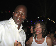 **EXCLUSIVE**.Michael Jordan & Steven Tyler.The Cain on The Cove Hotel Opening.Paradise Island, Bahamas.Friday, May 11, 2007 .Photo By Celebrityvibe.To license this image please call (212) 410 5354; or.Email: celebrityvibe@gmail.com ;