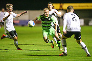 Forest Green Rovers Marcus Kelly(10) runs forward during the Friendly match between Weston Super Mare and Forest Green Rovers at the Woodspring Stadium, Weston Super Mare, United Kingdom on 11 October 2016. Photo by Shane Healey.
