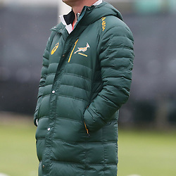 PADUA, ITALY - NOVEMBER 17: Heyneke Meyer (Head Coach) of South Africa during the South African national rugby team training session at Stadio Plebiscito on November 17, 2014 in Padua, Italy. (Photo by Steve Haag/Gallo Images)