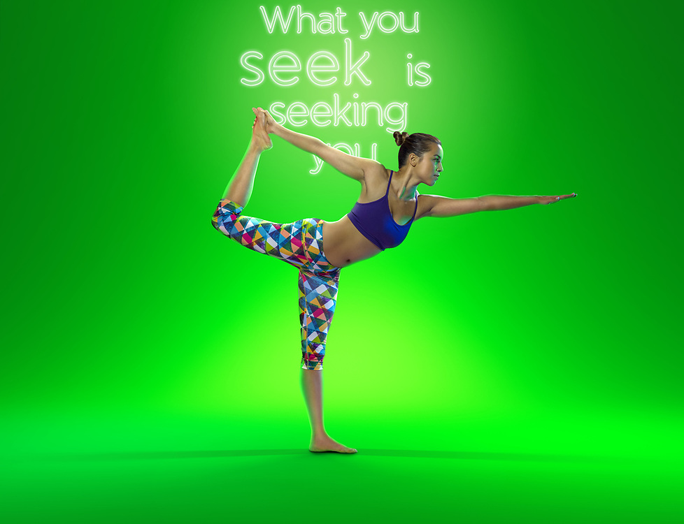 Rumi Yoga Wear campaign 2014. Photo by Mike Pickles / illume visuals