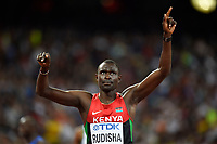 DavId Rudisha (KEN) competes in 800 Metres Men during the IAAF World Championships, Beijing 2015, at the National Stadium, in Beijing, China, Day 2, on August 23, 2015 - Photo Julien Crosnier / KMSP / DPPI