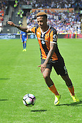 Hull City striker Abel Hernandez (9) during the Premier League match between Hull City and Leicester City at the KCOM Stadium, Kingston upon Hull, England on 13 August 2016. Photo by Ian Lyall.