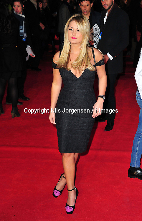 Sam Faiers during the Flight UK film premiere, Empire Leicester Square, London, United Kingdom, January 17, 2013. Photo by Nils Jorgensen / i-Images..
