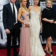 MON/Monte Carlo/20100512 - World Music Awards 2010, Barron Nicholas Hilton, Paris Hilton, Nicky Hilton, Kathy Hilton