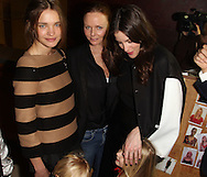 PARIS, FRANCE - MARCH 07:  Natalia Vodianova with her children, Stella McCartney and Liv Tyler attend the Stella McCartney Ready to Wear Autumn/Winter 2011/2012 show during Paris Fashion Week Opera Garnier on March 7, 2011 in Paris, France.  (Photo by Tony Barson/WireImage)