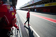 March 7-10, 2017: Circuit de Catalunya. Maurizio Arrivabene, team principal of Scuderia Ferrari