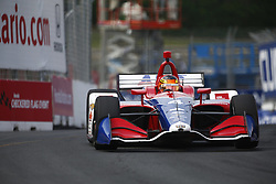 July 14, 2018 - Toronto, Ontario, Canada - MATHEUS LEIST (4) of Brazil takes to the track to practice for the Honda Indy Toronto at Streets of Toronto in Toronto, Ontario. (Credit Image: © Justin R. Noe Asp Inc/ASP via ZUMA Wire)