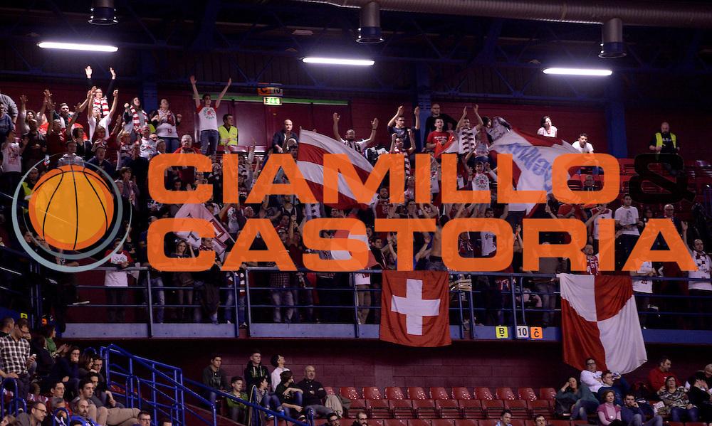 DESCRIZIONE : Milano Coppa Italia Final Eight 2014 Semifinali Banco di Sardegna Sassari Grissin Bon Reggio Emilia<br /> GIOCATORE : tifosi<br /> CATEGORIA : tifosi<br /> SQUADRA : Banco di Sardegna Sassari Grissin Bon Reggio Emilia<br /> EVENTO : Beko Coppa Italia Final Eight 2014<br /> GARA : Banco di Sardegna Sassari Grissin Bon Reggio Emilia<br /> DATA : 08/02/2014<br /> SPORT : Pallacanestro<br /> AUTORE : Agenzia Ciamillo-Castoria/C.De Massis<br /> Galleria : Lega Basket Final Eight Coppa Italia 2014<br /> Fotonotizia : Milano Coppa Italia Final Eight 2014 Semifinali Banco di Sardegna Sassari Grissin Bon Reggio Emilia<br /> Predefinita :
