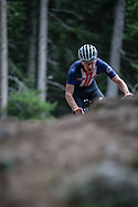 Kevin Vermaerke (USA) at the 2018 UCI MTB World Championships - Lenzerheide, Switzerland