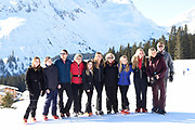 Fotosessie met de koninklijke familie in Lech /// Photoshoot with the Dutch royal family in Lech .<br /> <br /> Op de foto/ On the photo: Koningin Maxima, Koning Willem Alexander, Prinses Amalia, Prinses Alexia en Prinses Ariane met  Prinses Beatrix, Prins Constantijn en Prinses Laurentien en hun kinderen gravin Eloise, graaf Claus-Casimir en gravin Leonore, ///// Queen Maxima, King Willem Alexander, Princess Amalia, Princess Alexia and Princess Ariane with Princess Beatrix, Prince Constantine and Princess Laurentien and their children Countess Eloise, Count Claus-Casimir and Countess Leonore
