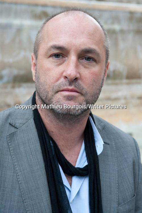 Colum McCann<br /> 9th August 2013<br /> <br /> Picture by Mathieu Bourgois/Writer Pictures<br /> <br /> NO FRANCE