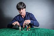 Frankfurt/Main 05.05.2014<br /> <br /> Joachim &quot;Jogi&quot; L&ouml;w, der Trainer der Fussballnationalmannschaft f&uuml;r die Sonderausgabe der Wams zur WM 2014<br /> <br /> Alex Kraus // Grabig 9  // 97833 Frammersbach // tel. 0049160 94457749 // alex@kapix.de LOK