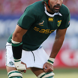 Victor Matfield of South Africa  during the British and Irish Lions tour 2009 <br /> LIONS TOUR 2009 SOUTH AFRICA