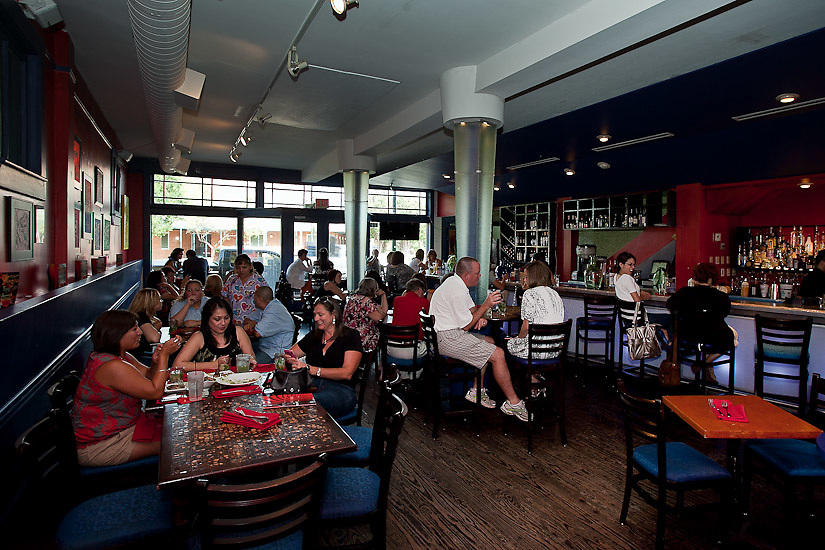 Azuca Nuevo Latino Restaurant & Mojito Bar.  713 S. Alamo.San Antonio, TX 78205.  Property Release: Yes.  Mandatory Photo Credit: soobumimphotography.com.To license this image contact:.Soobumim Photography.email: info@soobumimphotography.com.phone: 210-863-9878