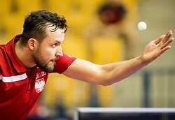 Chojnowski Patryk of Poland in action during Day 3 of SPINT 2018 - World Para Table Tennis Championships, on October 19, 2018, in Arena Zlatorog, Celje, Slovenia. Photo by Vid Ponikvar / Sportida