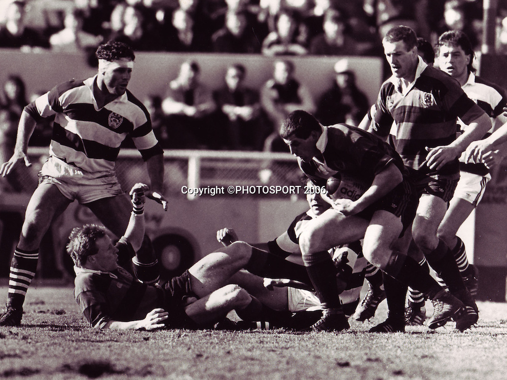NPC Final 1985, Canterbury v Auckland. Photo: PHOTOSPORT