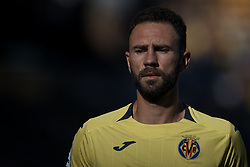 September 30, 2018 - Villarreal, Castellon, Spain - Miguel Arturo Layun Prado of Villarreal CF looks on during the La Liga match between Villarreal CF and Real Valladolid at Estadio de la Ceramica on September 30, 2018 in Vila-real, Spain  (Credit Image: © David Aliaga/NurPhoto/ZUMA Press)