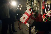 10 April 2010-New York, NY- Atmosphere at The Polish Consulate for the mourning of the death of Polish President Lech Kaczynski and his wife and others who perished in Saturday's early morning fatal plane crash in Russia on April 10, 2010 in New York City.