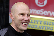 Jon Whitney during the Sky Bet League 1 match between Walsall and Southend United at the Banks's Stadium, Walsall, England on 16 April 2016. Photo by Chris Wynne.