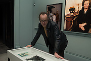 Johnnie Shand Kydd, Vogue100 A Century of Style. Hosted by Alexandra Shulman and Leon Max. National Portrait Gallery. London. WC2. 9 February 2016.