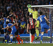 AFC Bournemouth goalkeeper Artur Boruc during the Sky Bet Championship match between Brighton and Hove Albion and Bournemouth at the American Express Community Stadium, Brighton and Hove, England on 10 April 2015.