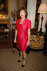 HRH PRINCESS ELIZABETH OF YUGOSLAVIA at a reception to celebrate the launch of Prince Dimitri of Yugoslavia's one-of-a-kind jeweleery collection held at Partridge Fine Art, 144-146 New Bond Street, London on 11th June 2008.<br />