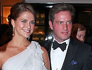 "New York, USA: 06-11-2012 - PRINCESS MADELEINE AND CHRIS O'NEIL.attend The Raoul Wallenberg Civic Courage Award honouring New York City Police Comissioner Raymond W. Kelly at the Yale Club, New York..This was the couple's first public engagement since their announcement of their engagement..Mandatory Credit Photo: ©NEWSPIX INTERNATIONAL..                 **ALL FEES PAYABLE TO: ""NEWSPIX INTERNATIONAL""**..IMMEDIATE CONFIRMATION OF USAGE REQUIRED:.Newspix International, 31 Chinnery Hill, Bishop's Stortford, ENGLAND CM23 3PS.Tel:+441279 324672  ; Fax: +441279656877.Mobile:  07775681153.e-mail: info@newspixinternational.co.uk"