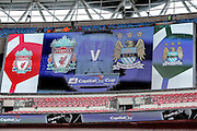 Wembley Stadium during the Capital One Cup match between Liverpool and Manchester City at Anfield, Liverpool, England on 28 February 2016. Photo by Simon Davies.