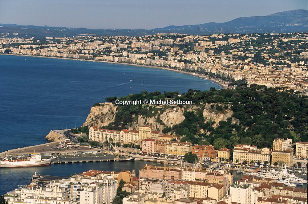 France. Nice. - la baie des anges -       / la baie des anges  Nice  france   / R00115/    L1738  /  P102866