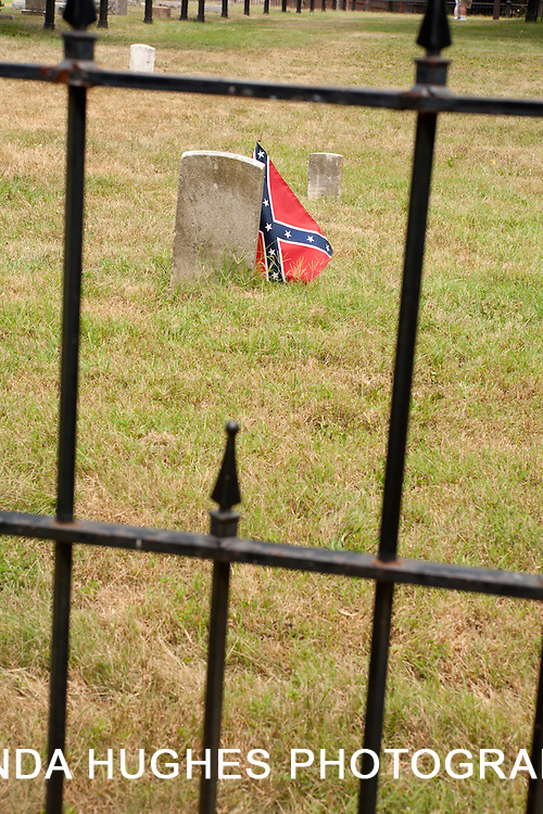 US Civil War Period Confederate Cemetery