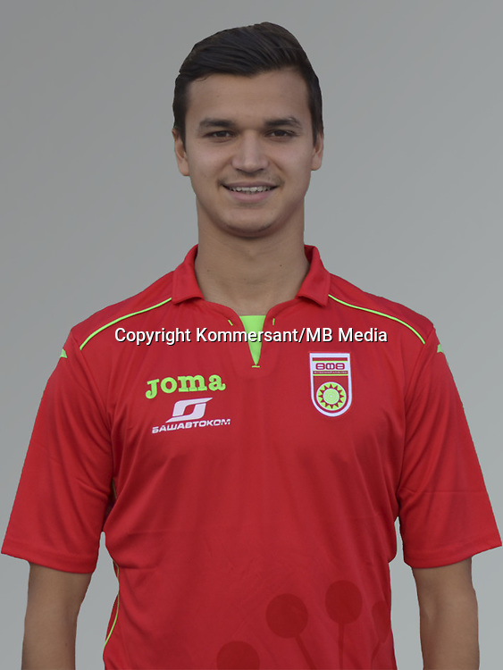 FC UFA, portraits, Russian Premier League, August 2016