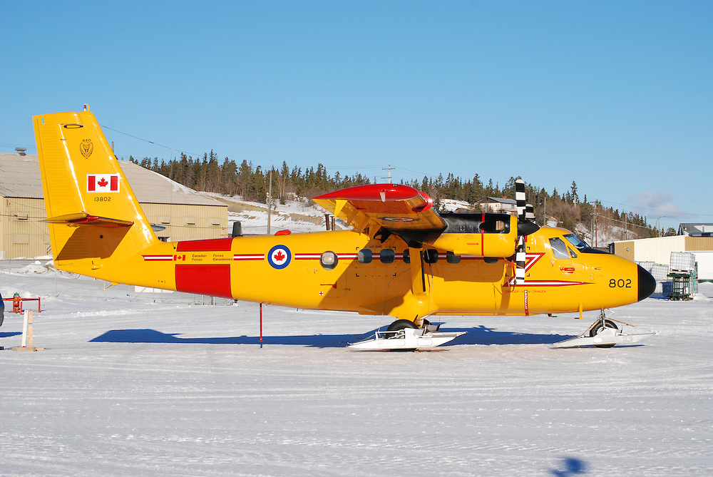 RCAF CC-138 Twin Otter on skis